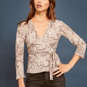 Reformation Langley Top XS